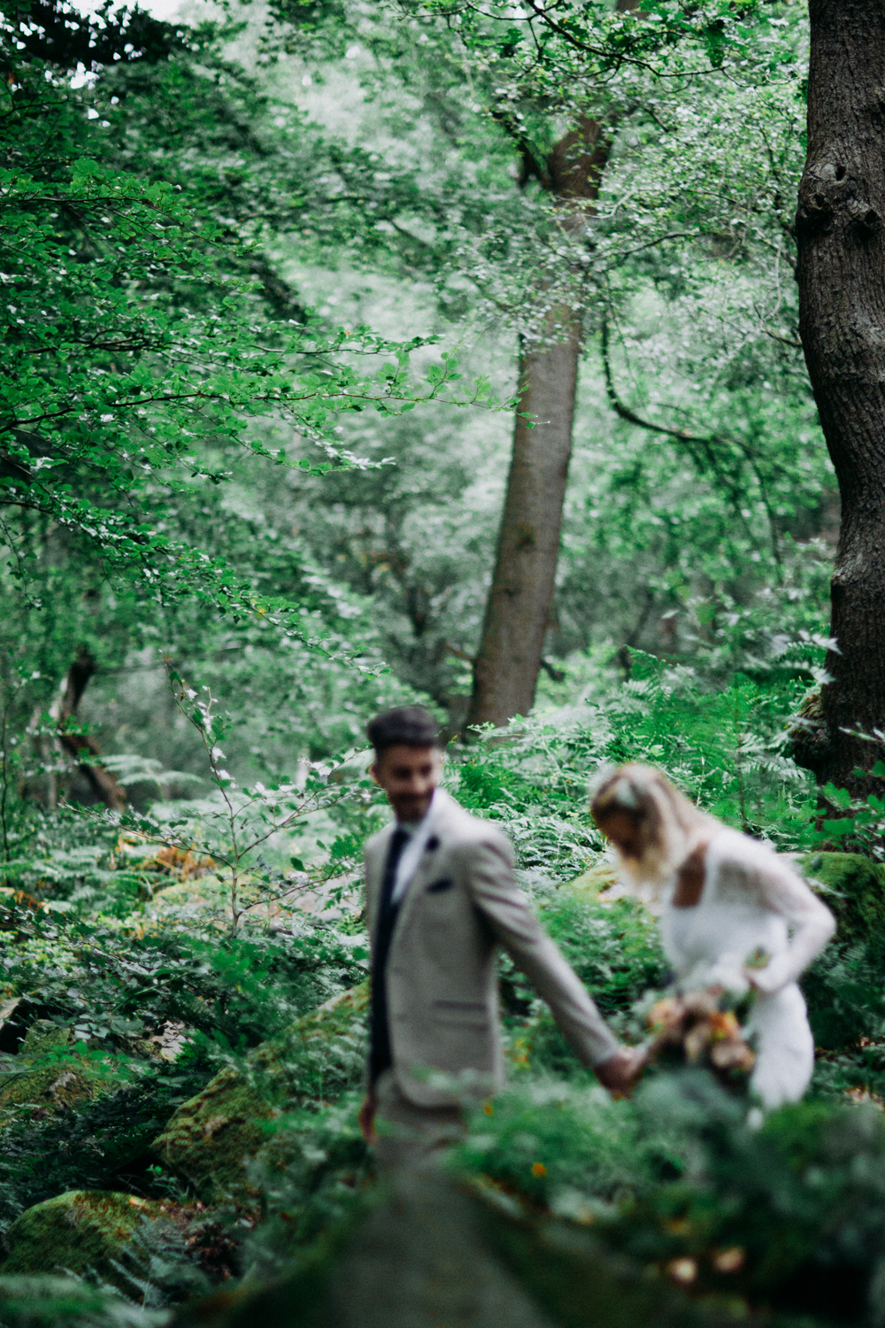 Peak District Wedding Adventure Session